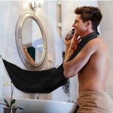 120x77 см Мужской фартук для ванной комнаты передник для Бороды Волос передник для бритья для мужчин мужской лицевой медведь Барб водонепроницаемый полиэстер Бытовая Чистка