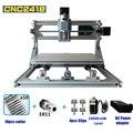 Лазерный гравировальный станок с ЧПУ 3-осевой мини деревообрабатывающий лазерный гравер DIY хобби инструмент ER11 GRBL AC110V 220V CNC2418 гравер машина