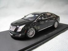 Black 1:43 LUXURY Cadillac XTS Resin Fine Models White Rare Miniature Car