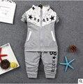 2016 новая коллекция весна/осень baby Boy одежда набор мальчиков спортивный костюм набор детей костюмы девушки костюм дети причинным 2 шт. одежда набор