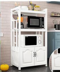 Stojaki kuchenne przestrzeń podłogowa przestrzeń domowa wielowarstwowa kuchenka mikrofalowa stojaki wielofunkcyjne przechowywanie szafka do przechowywania piekarnika