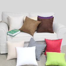 1PC Solid Color Bed Pillowcases Standard Pillow Case Cover Bedding Bedroom 40X40cm Kekegentleman
