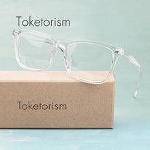 1599a14661 Toketorism claro de moda hipster vintage gafas de diseñador de la marca  gafas retro de las mujeres de los hombres 2808