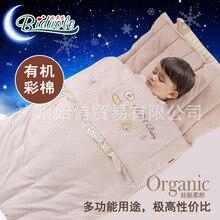 И зимой, чем увеличение утолщение органического хлопка кондиционер комната мультфильм ребенка спальный мешок для детей
