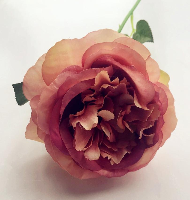 10pcs lažno oljno slikanje učinek Avstralija rose cvet mizo cvet - Prazniki in zabave - Fotografija 5