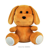 2017 New Cute Dog Plush Toys Early Education Machine Newborn Story Machine Girl Baby Toys For