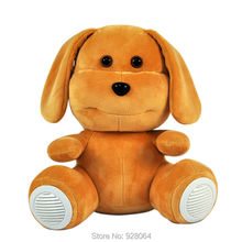 2017 new Cute dog plush toys early education machine/newborn story machine girl baby toys for children sound toy education toys