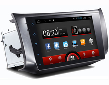 Android 5.1.1 System 10.1 inch Screen Auto radio car dvd gps navigation navigator autoradio player for Nissan Sylphy 2012-2015