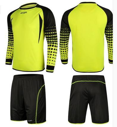 41ff0ea91 free shiping AOQUE China famous brand football goalkeeper clothing  goalkeeper jersey 4 color Size M,L,XL,XXL