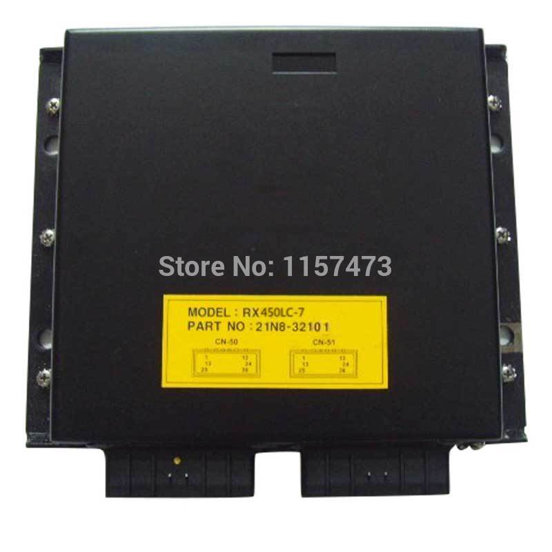 R450lc 7 ECU Controller 21NB 32101 Control Panel for Hyundai Excavator 1 year warranty