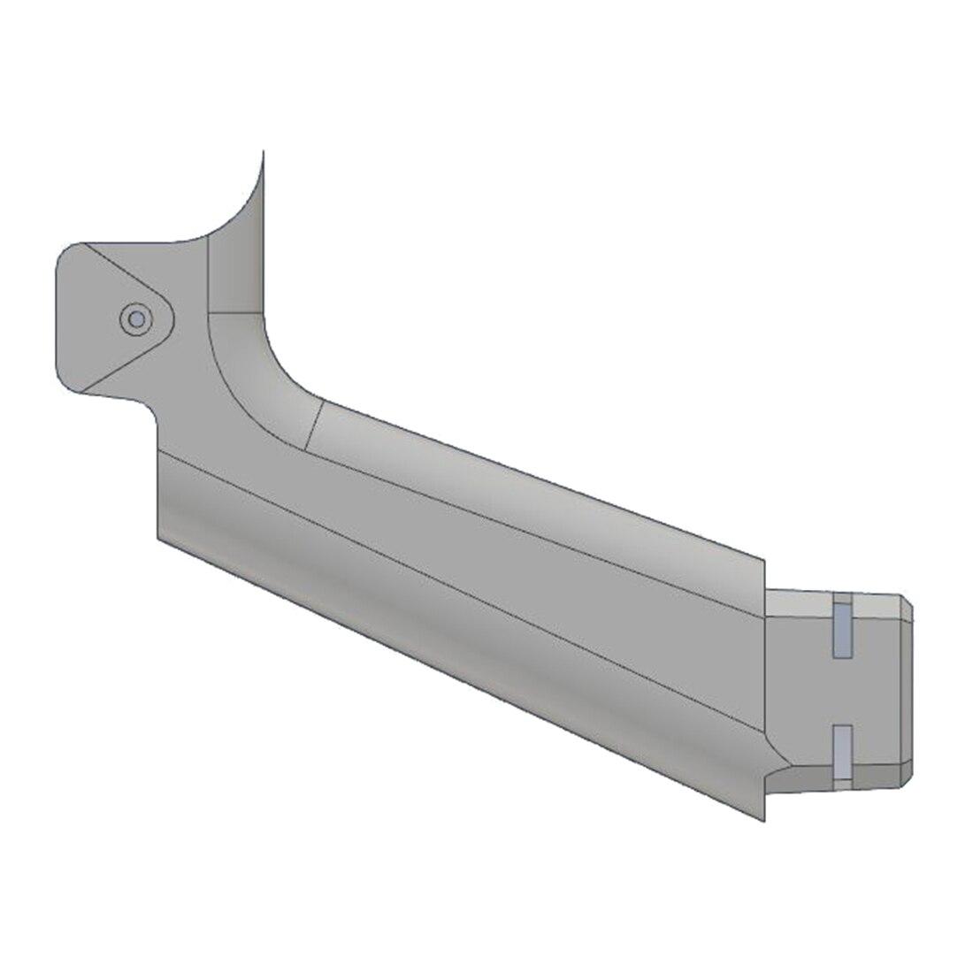 NFSTRIKE 3D Impression Modularisation Stock Avec Interface Pour Nerf Zombie Grève SlingFire Blaster Partie Modifié-Noir