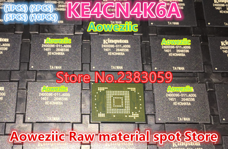 Aoweziic (1PCS) (2PCS) (5PCS) (10PCS)  100%  new original KE4CN4K6A BGA embedded memory EMMC 16GB flash memory 1pcs 2pcs 5pcs 10pcs 100% new original klmdgageac b001 bga 128gb emmc tablet or mobile storage chip klmdgageac b001