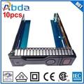 Dhl/fedex del envío 651314-001 651320-001 soporte de 3.5 pulgadas unidad de disco duro hdd bandeja caddy para hp g8 g9 server