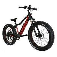 Горный велосипед с изменяемой скоростью, литий ионная батарея, электрический велосипед, алюминиевый сплав, снежный велосипед, внедорожный