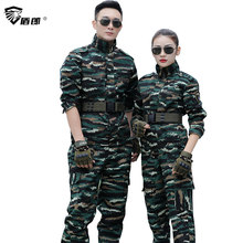 Camouflage Military Clothing Men Uniforme Militar US Army Combat Shirt Tactical Cargo Pants Hunting Clothes Work Uniforms Mens(China)