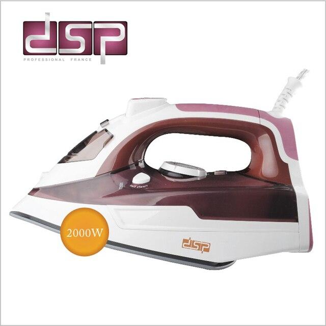 DSP Ajustável Ferro A Vapor Auto-limpeza do Agregado Familiar Ferro Profissional 220-240 v hz 2000 w KD1003 50