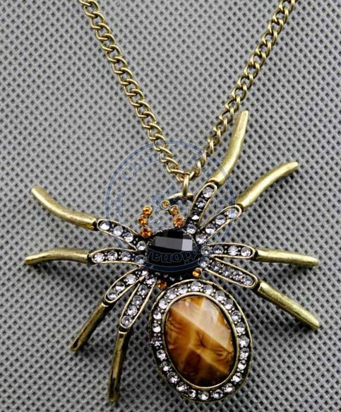necklaces pendant Fashion jewelry popular for women vinage spinning animal faux design CN post
