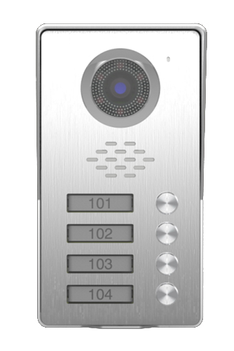 SMTVDP TFT LCD Color Video Door Phone Doorbell Kit Intercom Home Security Video System HD Camera with ID Card Function