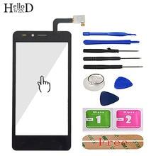 Pantalla táctil de cristal para teléfono móvil, Panel digitalizador con Sensor de lente, adhesivo gratis, para MTC Smart Sprint 4G
