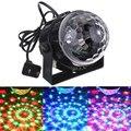 Mini bola de cristal mágica led efeito de iluminação de palco rgb barra de luz dj party led luz de discoteca clube 100-240 v us plug