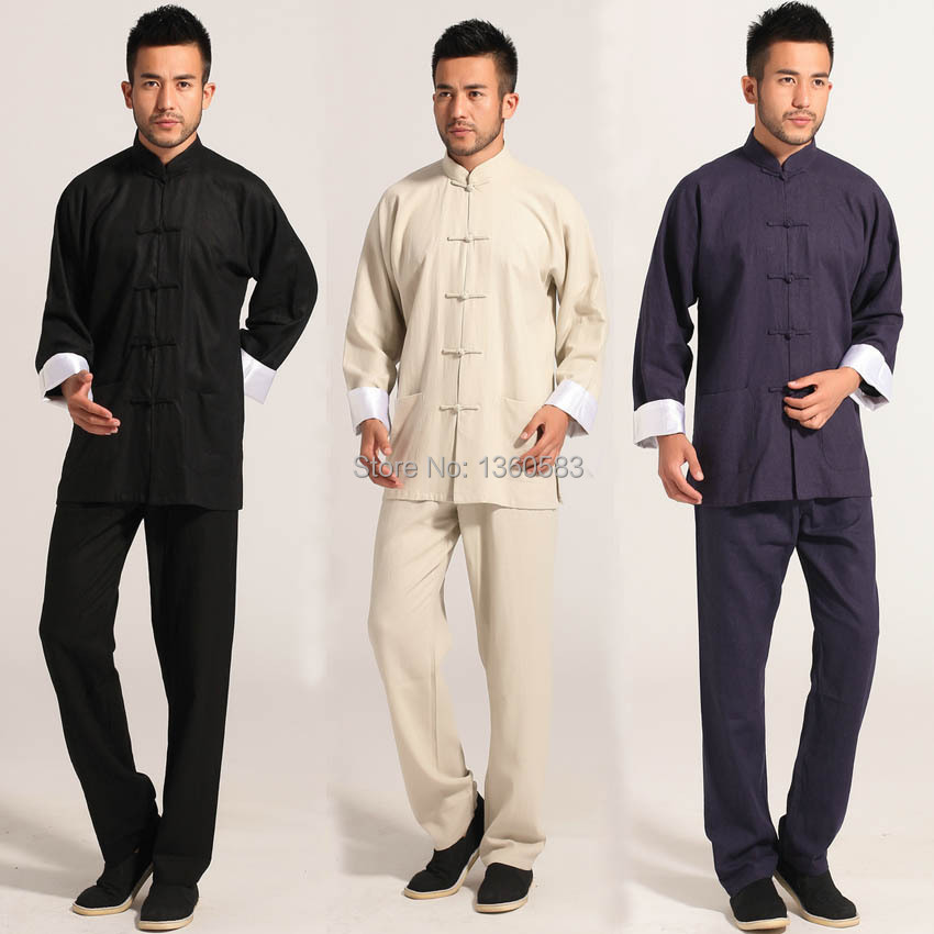 New Arrival Wing Chun Uniform Kung Fu Clothing Tai Chi Martial Art Suit wushu clothes Vintage chinese Tang suits bruce lee wing chun tai chi martial arts clothing set kung fu uniform chinese traditional tang suits men s clothes jacket pants