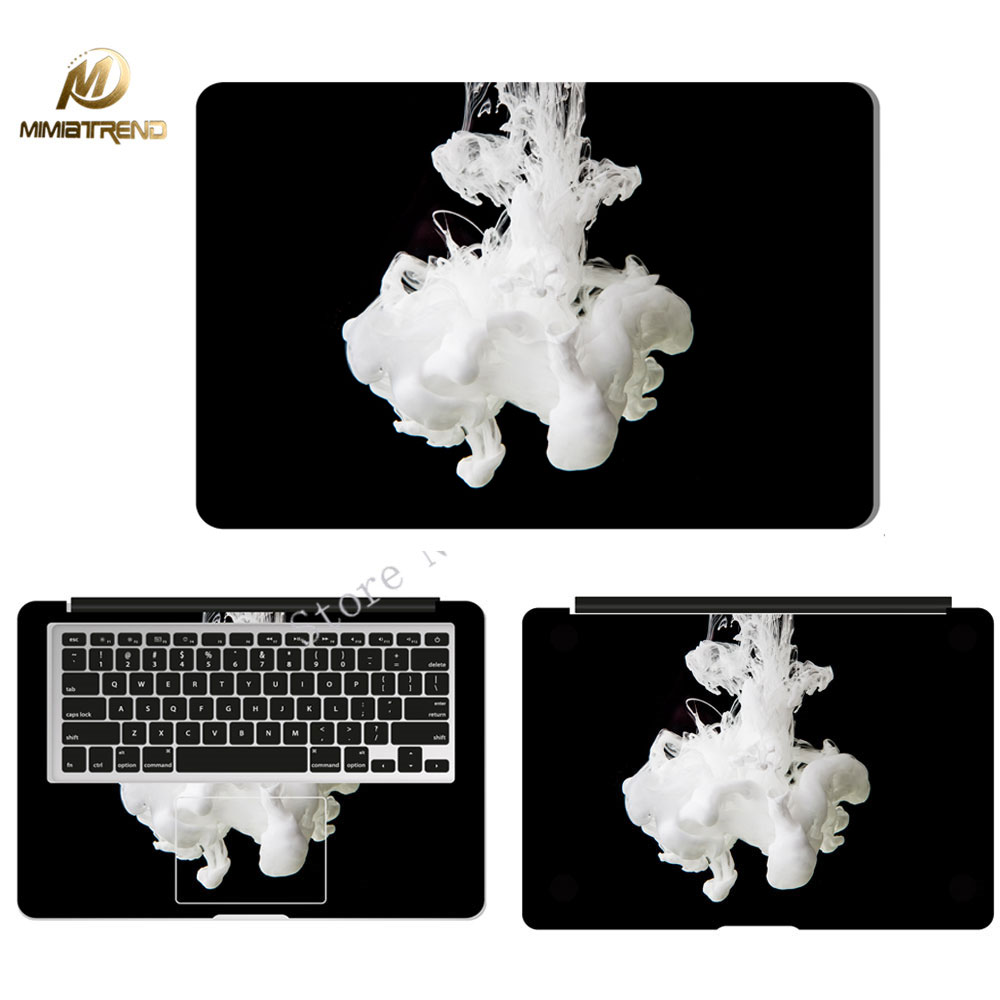 Mimiatrend Smoke Laptop Skin Sticker Decal For Apple Macbook Air Pro Retina 11 12 13 15 Inch Protective Cover Skin Wholesale