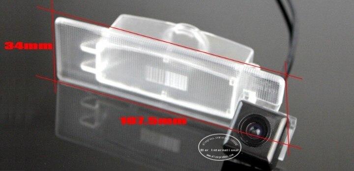 Liislee фонарь освещения номерного знака Камера/HD CCD Ночное видение/зеркало заднего вида сигнала Камера/использования парковочной Камера для hyundai i40 2011
