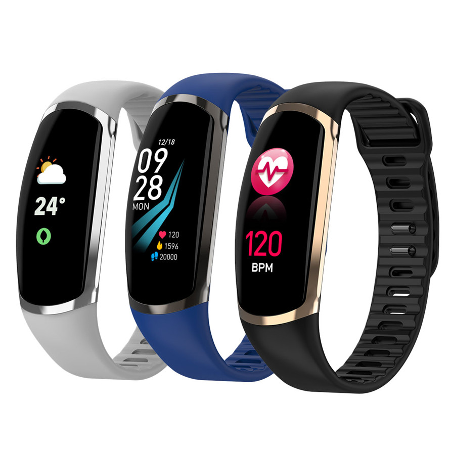 Smart Bracelet R16 Android IOS Heart Rate Band Sleep Monitor Blood Pressure Fitness Tracker Waterproof Color Screen Sport BandSmart Bracelet R16 Android IOS Heart Rate Band Sleep Monitor Blood Pressure Fitness Tracker Waterproof Color Screen Sport Band