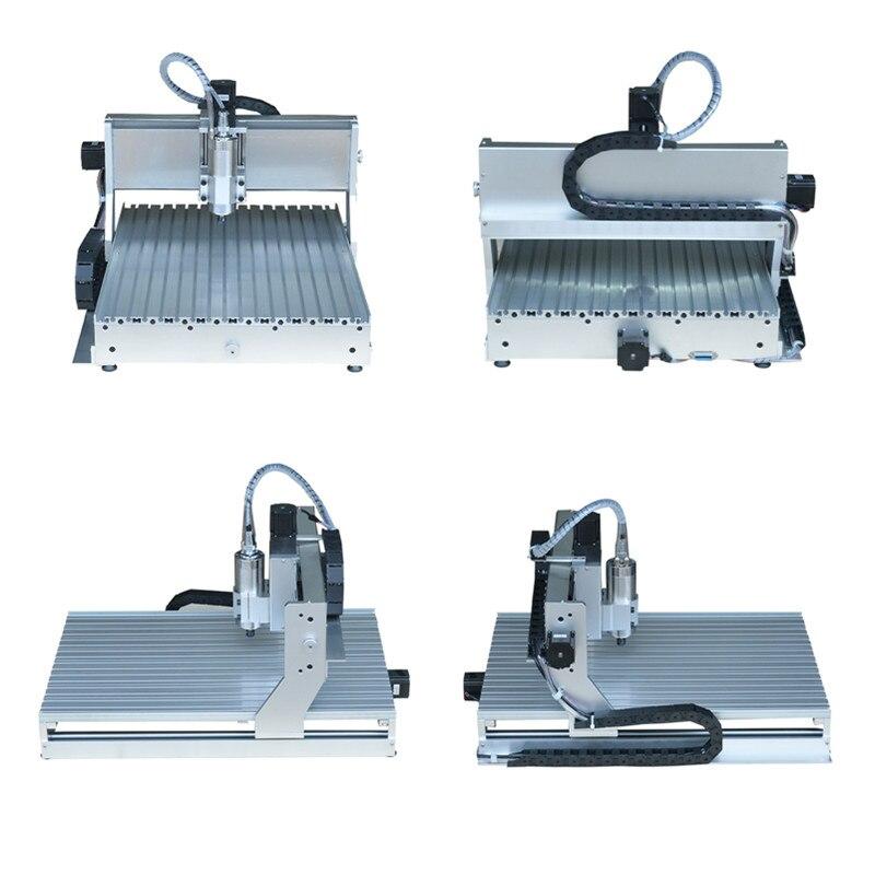 Fin de course CNC Machine de gravure vis à billes 800 W 6040 routeur forage fraisage - 4