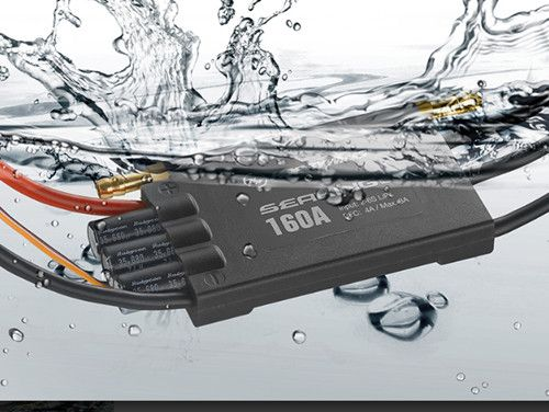 Hobbywing Seaking Pro 160A 120A Waterproof Brushless ESC Electric Speed Control with BEC for RC Boat 2016 flycolor 90a brushless waterproof alu alloy electronic speed control esc with 5 5v 5a bec for rc boat aircraft free ship
