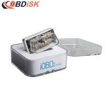 XTOOL iOBD2 Мини Bluetooth OBD2 сканер штрих-кода работать на Android/IOS лучше, чем elm327 диагностический инструмент