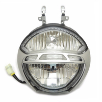 KEMiMOTO For Ducati Headlight Headlamp Set For Monster 696 659 795 796 1000 1100/S Headlight Front Head Light Lamp Clear New
