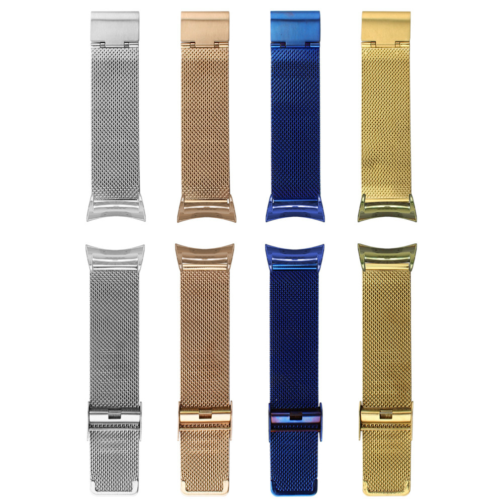 Fashion Milanese Stainless Steel Band For Samsung Gear Fit 2 SM-R360