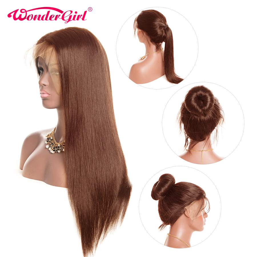 13x6 Lace Front Human Hair Wigs For Black Women Wonder Girl 13x4 Pre Plucked Remy Peruvian Straight Lace Front Wig