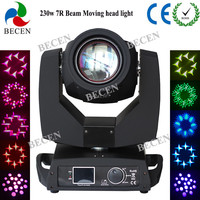 NO tax 230W 7r sharpy beam moving head spot light dmx dj stage lighiting for party disco light 16/20CH