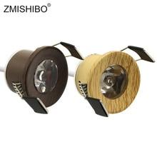 Spot-Light ZMISHIBO Mini Recessed-Ceiling Under-Cabinet-Lamp Wooden-Frame LED 27mm Cut