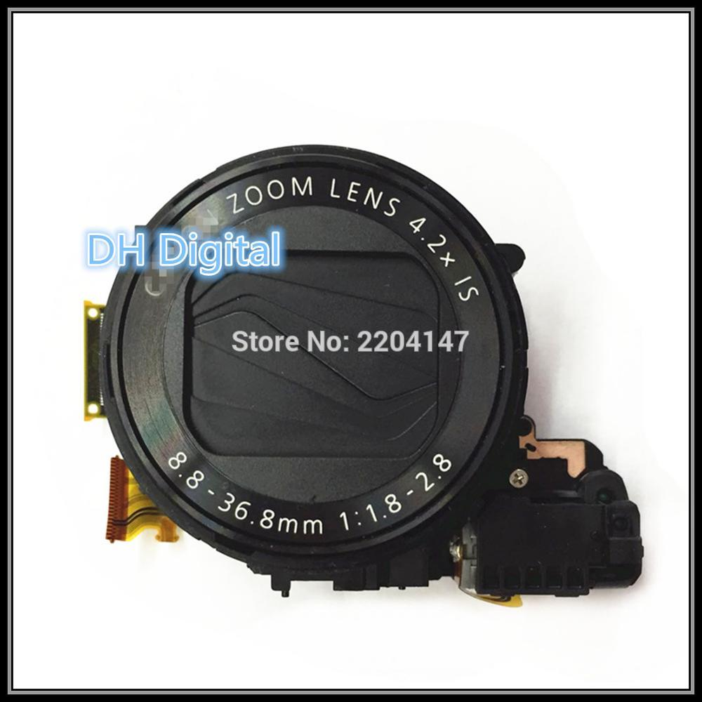 100% NEW  Original  Lens Zoom Unit For Canon PowerShot G7X  G7-X  G7 X Digital Camera Repair Part Black + CCD free shipping 98%new camera lens unit without ccd for panasonic lumixdmc lx1 lx1 lens zoom unit assembly camera silver