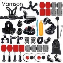 Vamson for Xiaomi for Yi Accessories Kit Mount Chest Strap For Gopro hero 5 4 3 for SJCAM for SJ4000 Action Camera VS62