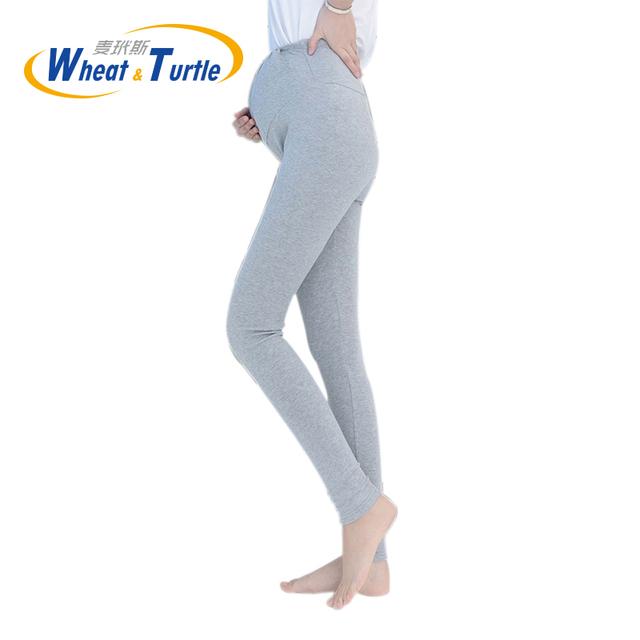 Leggings Para grávidas roupa de maternidade Magras Leggings Toda a Partida Algodão Chic Personagens Coloridos Decorados Legging Calças Para Grávidas