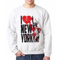 Top Brands Fitness Men Crewneck Sweatshirt New York Infection Gentleman Mens Tracksuit Casual Design Hipster Male Sweatsuits