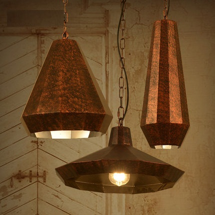 Loft Style Creative Iron Pendant Light Fixtures Edison Industrial Vintage Lig