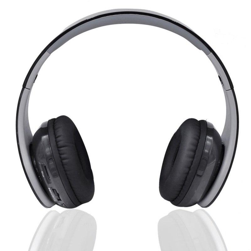 Plegable Sobre la Oreja los Auriculares Estéreo de Música inalámbrico Bluetooth