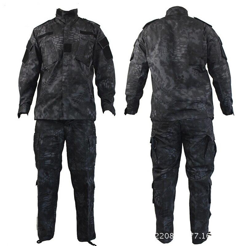 Top Quality Camouflage US Army Uniform Military Suit CP ACU Digital Camo Combat Tactical Camouflage Uniform