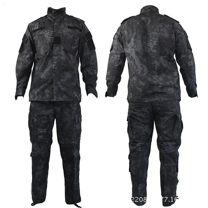 Top qualité Camouflage US armée uniforme militaire costume CP ACU numérique Camo Combat tactique Camouflage uniforme Type BDU