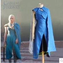 Daenerys stormborn daenerys targaryen fiesta de carnaval traje para mujeres adultas tv series cosplay juego de tronos dress y capa