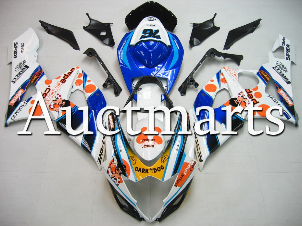 Fit for Suzuki GSX-R 1000 2005 2006 ABS Plastic motorcycle Fairing Kit Bodywork GSXR1000 05 06 GSXR 1000 GSX 1000R K5 CB14 motorcycle abs plastic red fairing bodywork kit fit for honda vtr1000f 1997 2005