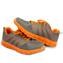 Hot Sale Men Shoes Elastic band Rubber Breathable Air mesh Outdoor athletics Comfortable Summer Healthy font
