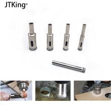5 diamond drill bits 6-14 mm set diamond coated hole saw core drill glass brick marble granite drilling power tools