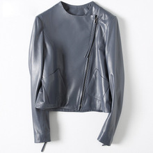 2018 New Fashion Genuine Sheep Leather Jacket H66
