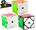 Cong Diseño MeiChen Skewb cubo Mágico Negro Moyu Blanco Skewb V2 Stickerless cubo de la Velocidad